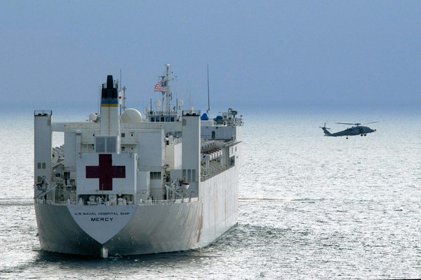 La geopolítica de la ayuda a las víctimas del tsunami