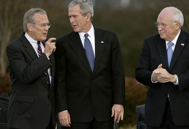 Pentagon Departure Ceremony for Donald Rumsfeld