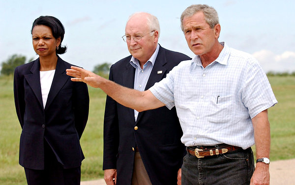 us bush rice cheney
