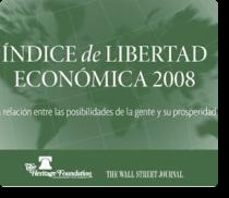 faes wsj indice de libertade economica 2008