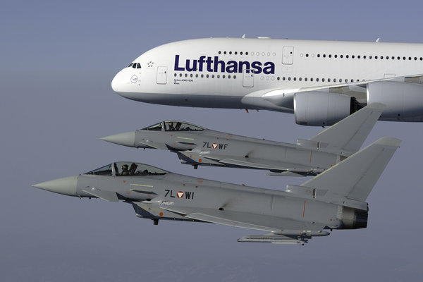 Eurofighter Program Saved by Compromise Deal