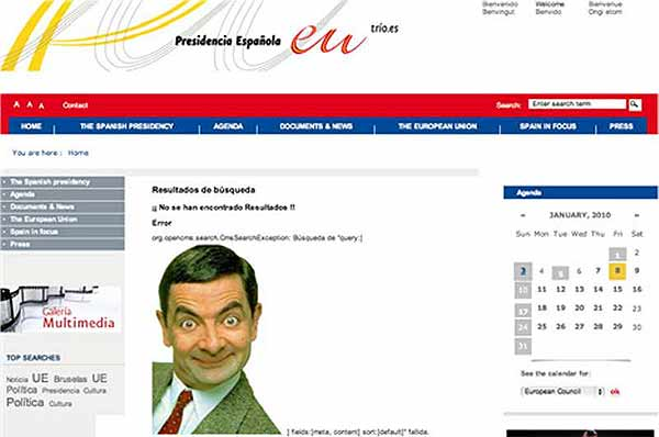 spain eu website