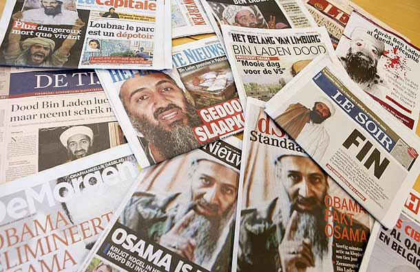 european media osama bin laden death