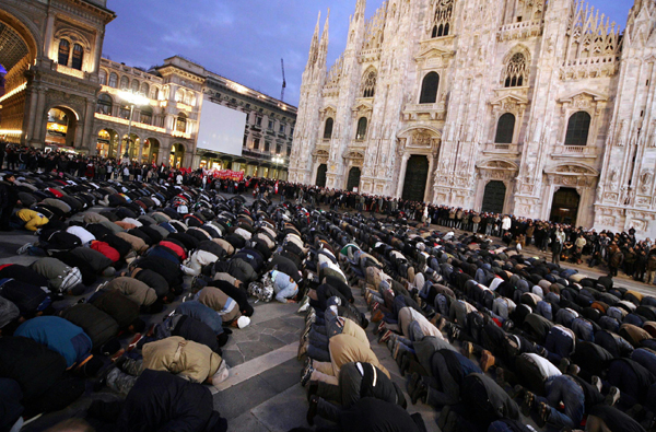 milano muslim prayers