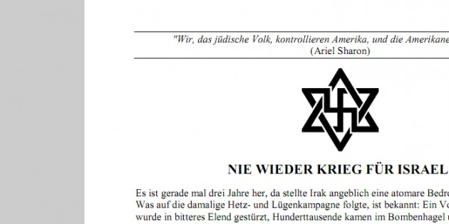 """Germany: """"Don't Buy from Jews"""""""