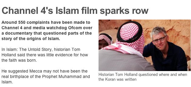 Britain: Islam Documentary Cancelled Amid Threats of Physical Violence