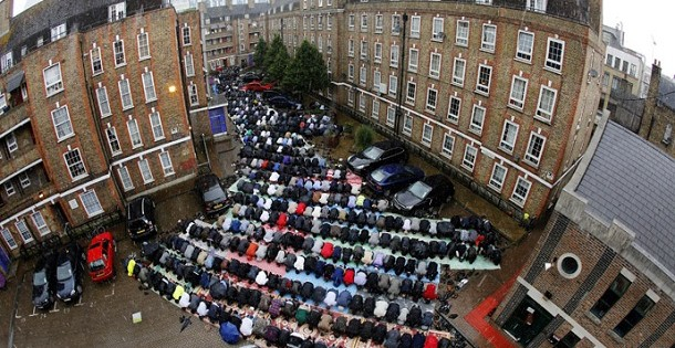 The Islamization of Britain in 2013