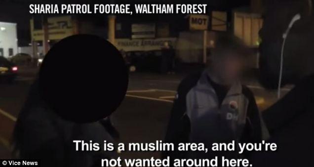 britain muslim patrol