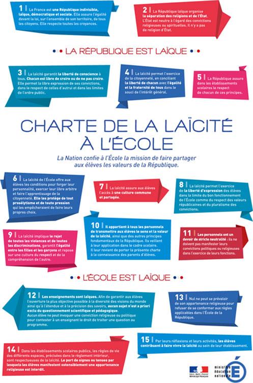 france secularism charter