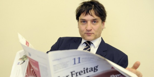 German Journalist Among Top Ten Anti-Semites of 2012