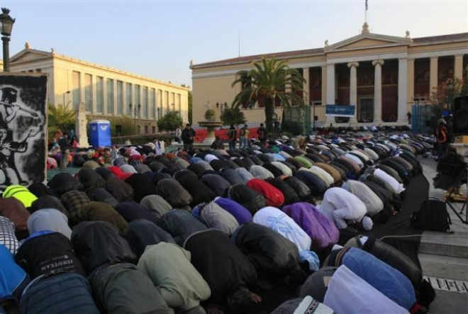 greece athens muslims