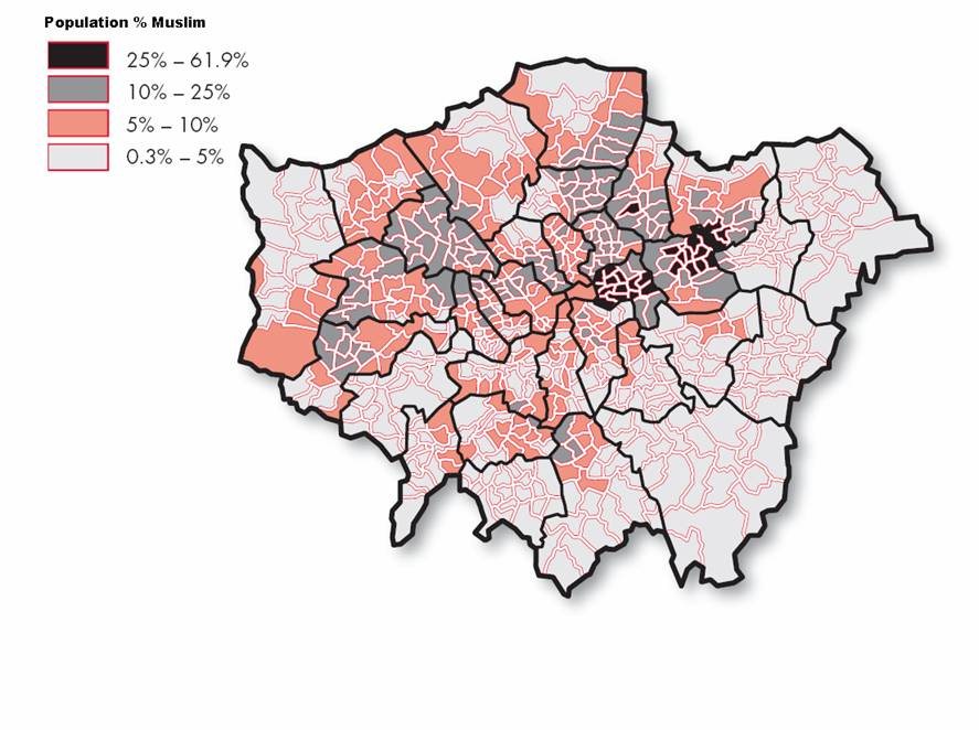 uk london muslim population