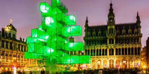 Belgium: Jihad on Christmas Trees