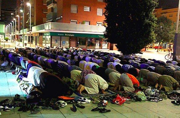 španělsko mollet muslimové ramadán