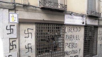 spain anti-semitic graffiti