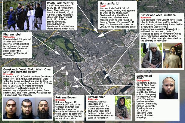 uk cardiff islamists