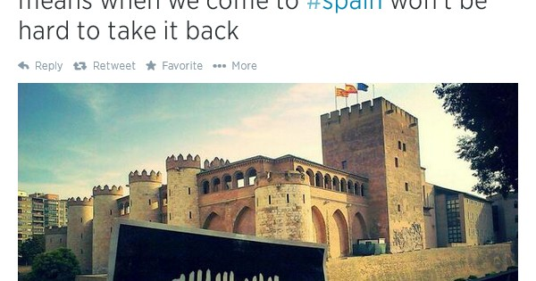Islamic State: We Will Take Spain Back