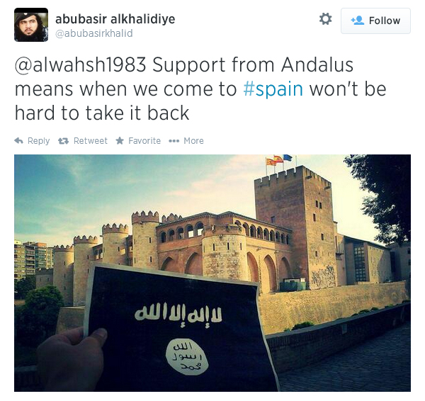 spain islamic state caliphate