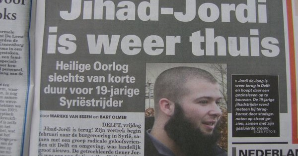 "The ""Explosive Growth"" of Jihadism in the Netherlands"
