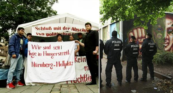 germany hunger strikes