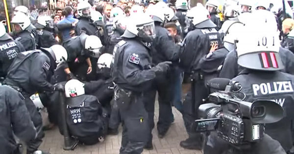 German Streets Descend Into Lawlessness